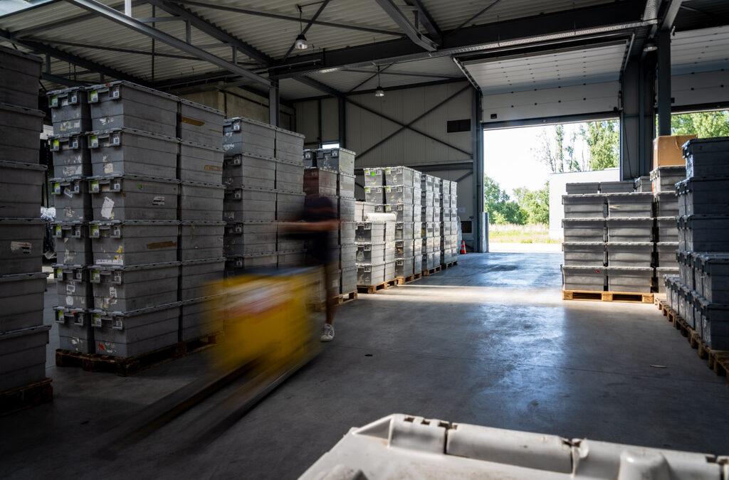 Fashion Logistics Opslag - Affligem